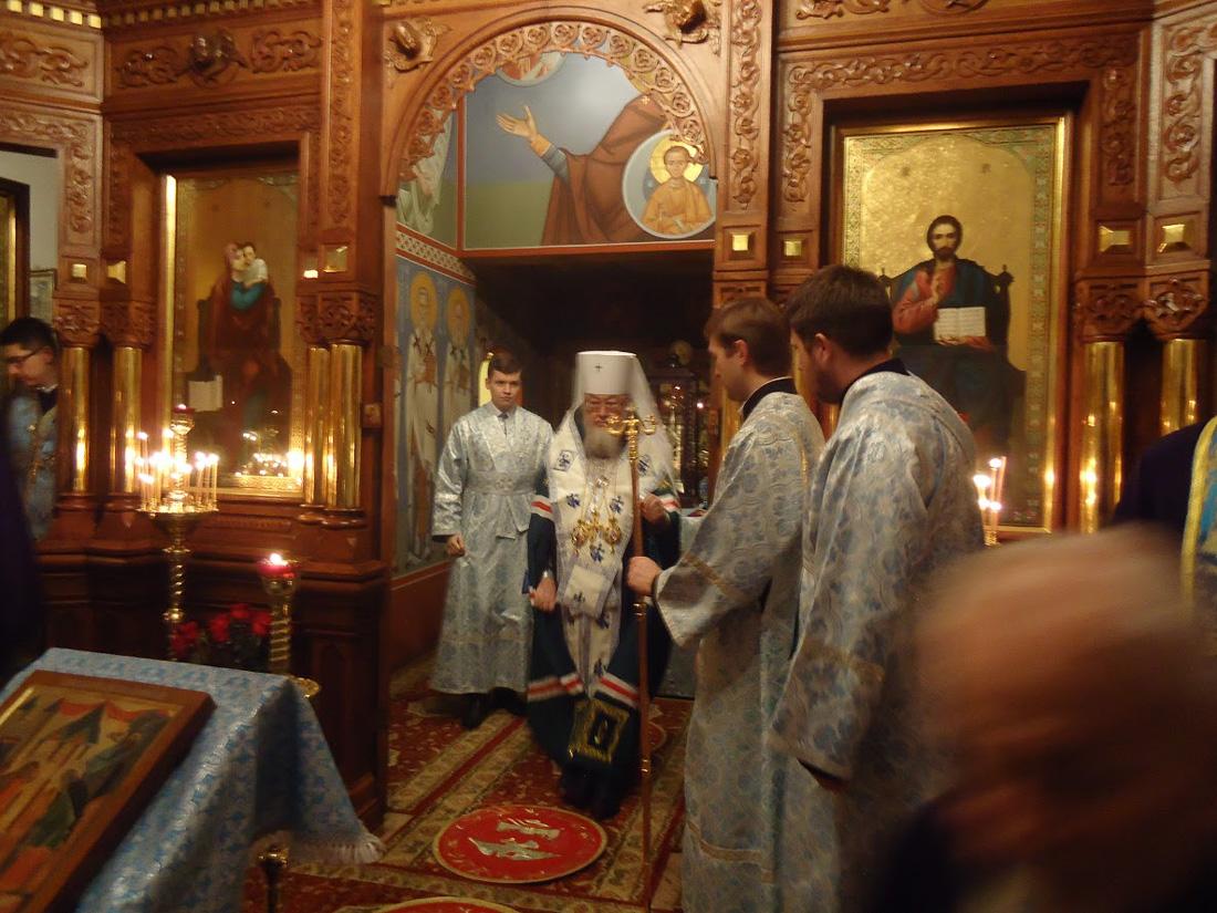 Święto Wprowadzenia Najświętszej Bogurodzicy do świątyni 2016