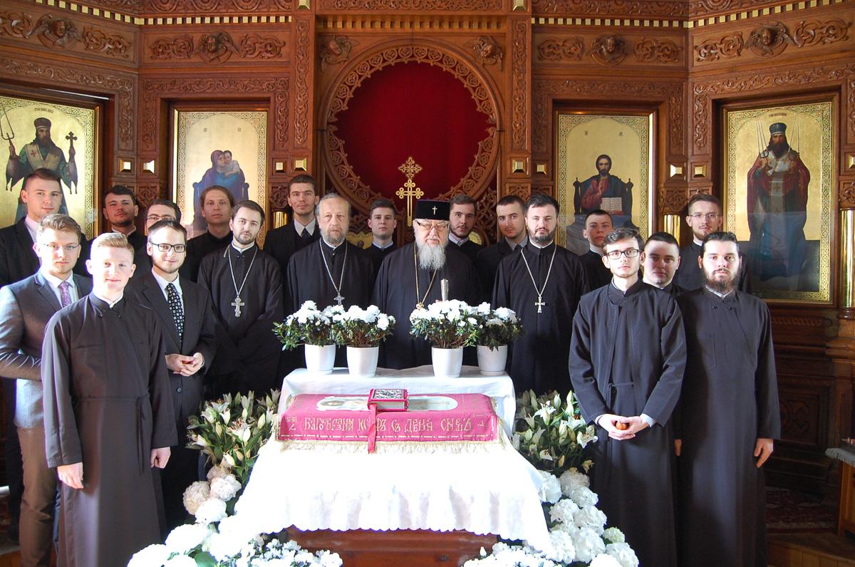 Paschalna wizyta Zwierzchnika Kościoła w Seminarium